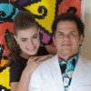 Romero Britto & Rayne Morais